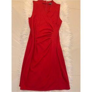 Ralph Lauren cocktail red dress